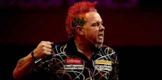 Peter Wright World Matchplay Darts 2015