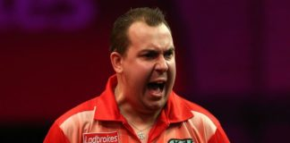 Kim Huybrechts Grand Slam of Darts 2015