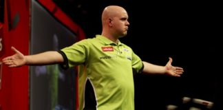 Michael van Gerwen Players Championship Darts