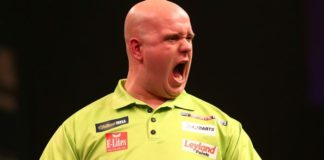 Michael van Gerwen European Tour Darts