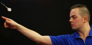 Wedden Michael van Gerwen - Jan Dekker Players Championship Finals bookmakers Getty