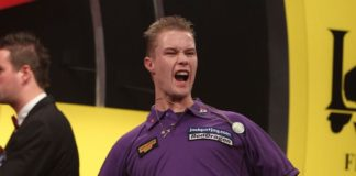 Wesley Harms BDO Lakeside WK Darts 2015