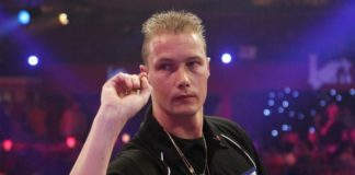 Wesley Harms Programma Lakeside WK Darts 2015