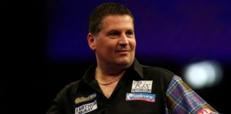 Gary Anderson World Matchplay Darts 2015