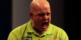 Michael van Gerwen World Matchplay Darts 2015