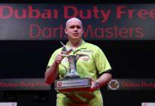 Michael van Gerwen Dubai Darts Masters