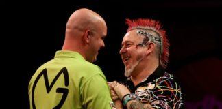 Michael van Gerwen UK Open darts 2015