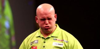 Michael van Gerwen German Darts Masters 2015