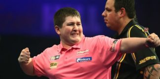 Keegan Brown Players Championship Darts
