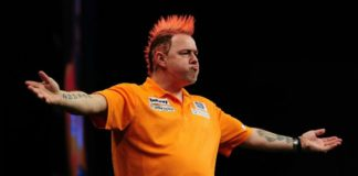 Peter Wright Players Championship Darts