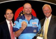 Raymond van Barneveld Premier League Darts 2017 Getty
