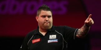 Michael Smith International Darts Open 2015