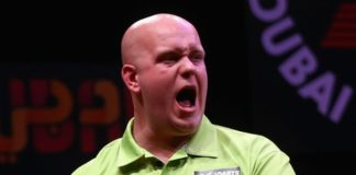 Michael van Gerwen International Darts Open 2015