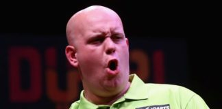 Michael van Gerwen World Cup of Darts 2015