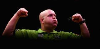 Michael van Gerwen Dutch Darts Masters 2015
