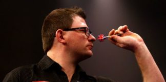 James Wade Players Championship Darts
