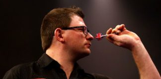 James Wade World Matchplay Darts 2015