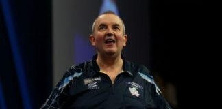 Phil Taylor World Matchplay Darts 2015