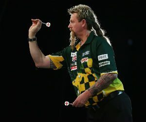 Premier League Darts bookmakers Simon Whitlock Getty