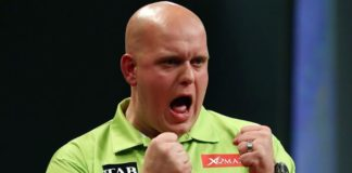 Michael van Gerwen European Darts Matchplay