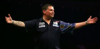 Gary Anderson US Darts Masters | Getty