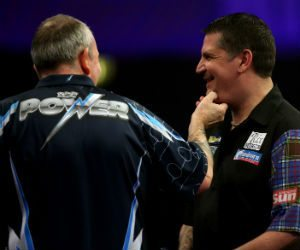 Gary Anderson Phil Taylor Players Championship Finals 2015