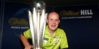 Bookmakers Michael van Gerwen - Max Hopp WK Darts voorspellingen wedden | Getty