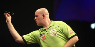 Michael van Gerwen favoriet premier league of Darts