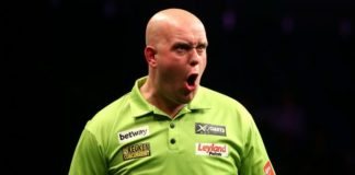 Michael van Gerwen Grand Slam of Darts