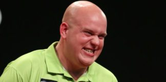 Michael van Gerwen Grand Slam of Darts 2015