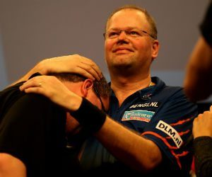 Raymond van Barneveld WK Darts 2018 wedden bookmakers Getty