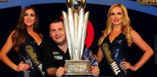 Gary Anderson winnaar WK Darts 2016