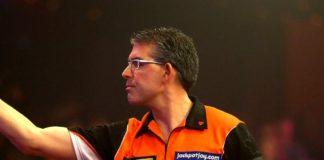 Jeff Smith halve finale Lakeside WK Darts 2016