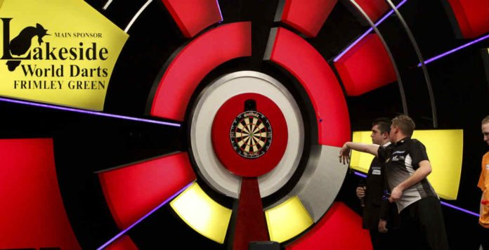 Loting Lakeside WK Darts BDO: Danny Noppert tegen Cameron of Hendriks Getty