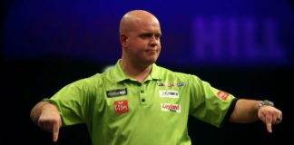 Michael van Gerwen Premier League Darts 2016