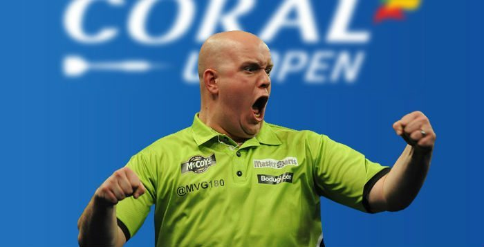 Michael van Gerwen Speelschema UK Open 2016