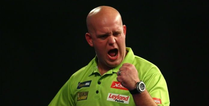 Michael van Gerwen UK Open qualifier