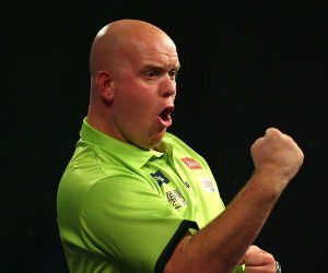 Michael van Gerwen voorspellingen winnaar wk darts Getty