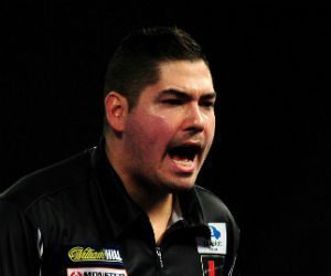 Jelle Klaasen The Masters darts Getty