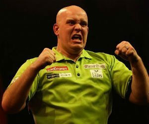 Michael van Gerwen Grand Slam of Darts voorspellingen darts Getty