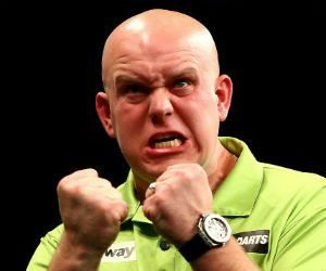 Michael van Gerwen Grand Slam of Darts Getty