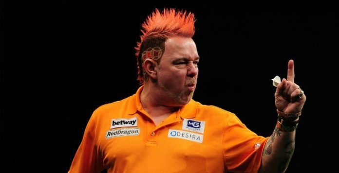 Michael van Gerwen - Peter Wright halve finale Grand Slam of Darts Getty