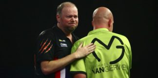 Perth Darts Masters Michael van Gerwen en Barneveld door naar halve finale Getty