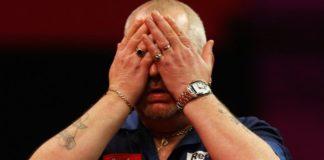 Michael van Gerwen - Robert Thornton Premier League Darts Getty