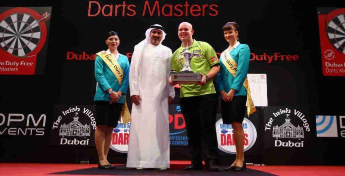 Michael van Gerwen tips wedden Dubai Darts Masters Getty