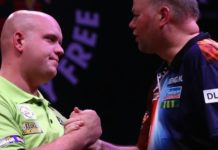 Michael van Gerwen – Raymond van Barneveld Premier League Darts Getty