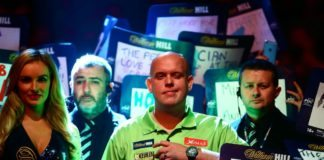 Michael van Gerwen WK Darts kampioen? Nu wedden is dik winnen! GEtty