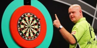 Grand Slam of Darts Michael van Gerwen - Martin Adams live Getty