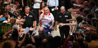 Ahoy Rotterdam Premier League Darts: Phil Taylor – Michael van Gerwen Getty