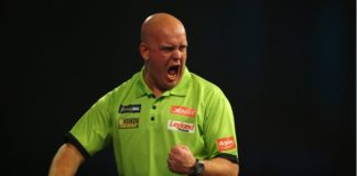 Michael van Gerwen German Darts Masters